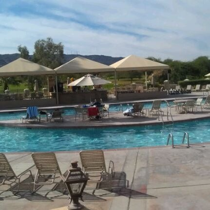 Photo taken at Legacy Golf Resort Poolside by Ron D. on 10/29/2011