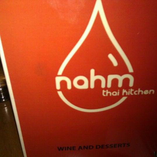 Photo taken at Nahm Thai Kitchen by Mina V. on 1/22/2012