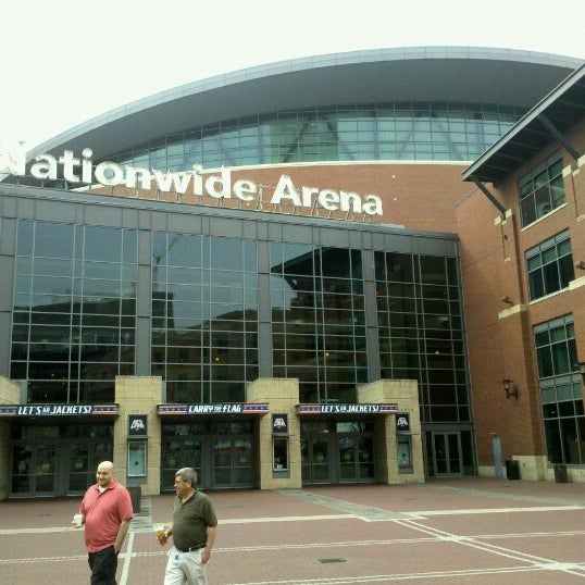 Photo taken at Nationwide Arena by Evan C. on 3/15/2012