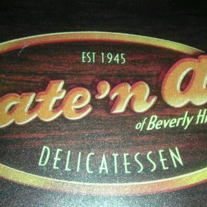 Photo taken at Nate 'n Al Delicatessen by Nathaniel Getzels G. on 2/4/2012