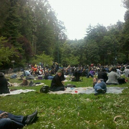 Photo taken at Sigmund Stern Grove by Janet W. on 7/8/2012