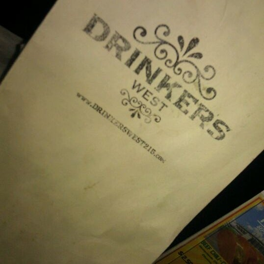 Photo taken at Drinkers West by Detrick L. on 9/28/2011