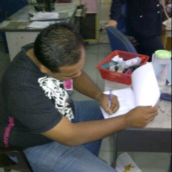 Photo taken at Balai Polis Kg Tawas by Kecik J. on 1/11/2012