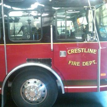 Photo taken at Crestline Fire Dept by Alan H. on 1/16/2012