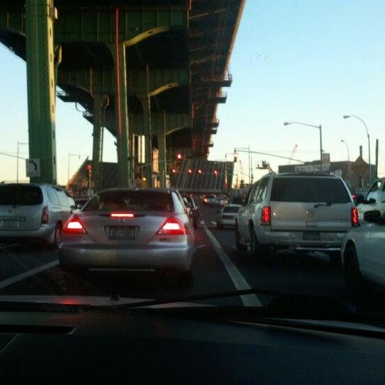 Photo taken at Hamilton Avenue Bridge by (SpaHa) Alex M. on 11/5/2011