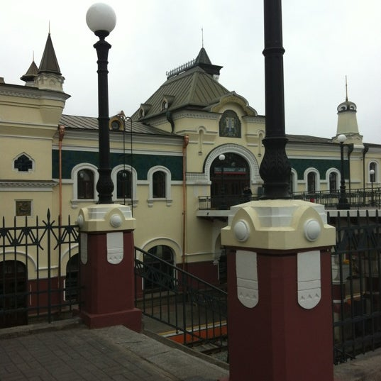 Photo taken at Железнодорожный вокзал Владивостока / Vladivostok Railway Station by 🐬Katy🐬 ✨. on 8/3/2012