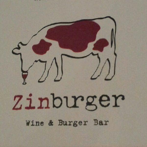 Photo taken at Zinburger by Toryanni P. on 9/4/2012
