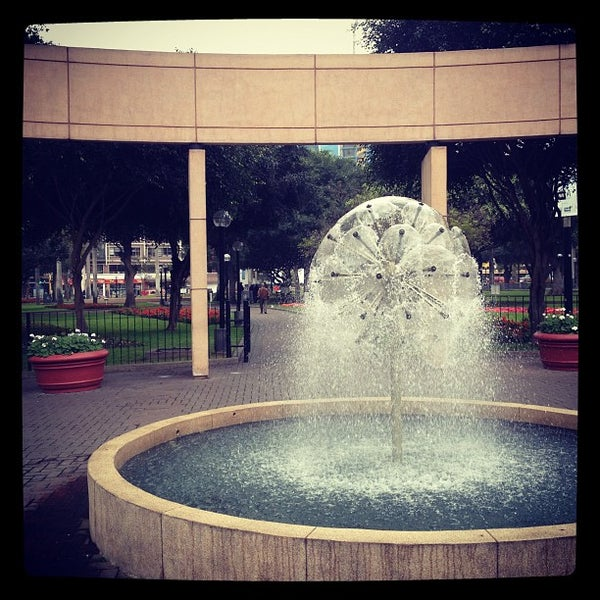 Photo taken at Parque Kennedy by David G. on 9/2/2012