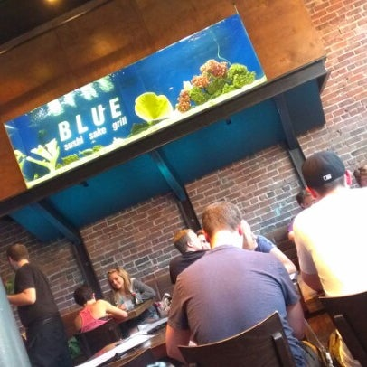 Photo taken at Blue Sushi Sake Grill by Chris D. on 7/2/2012