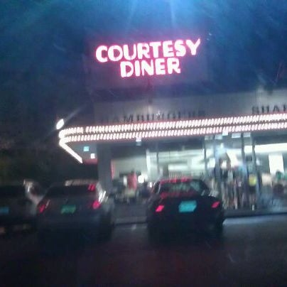 Photo taken at Courtesy Diner by Shakarra W. on 3/31/2012