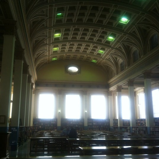 Photo taken at Barr Smith Reading Room by Mark A. on 2/23/2012