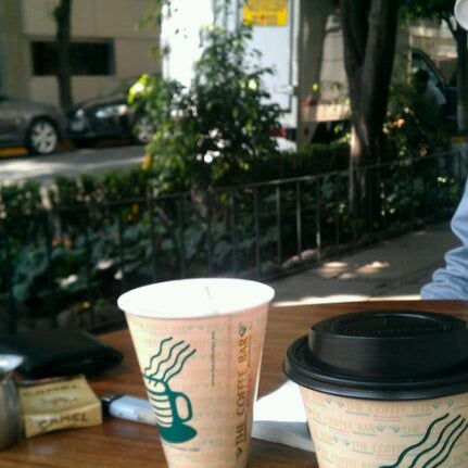Photo taken at The Coffee Bar by Seday M. on 3/23/2012