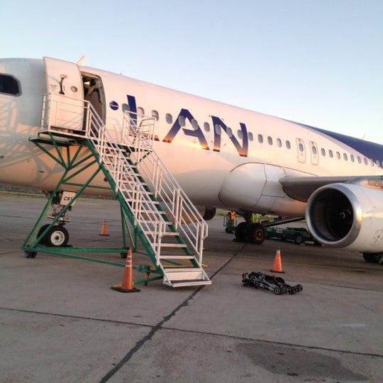Foto tomada en Aeropuerto Internacional del Neuquén - Presidente Juan D. Perón (NQN) por Caroline el 3/16/2012