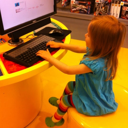 Photo taken at The LEGO Store by Lisa M. on 5/17/2012