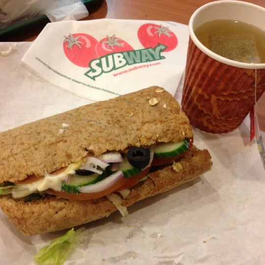 Photo taken at Subway by Shirly B. on 4/18/2012