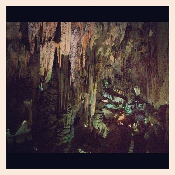 Photo taken at Caves of Nerja by Miguel Á. on 9/7/2012
