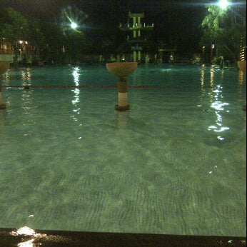 Photo taken at Graha Residence Swimming Pool by andini P. on 4/28/2012
