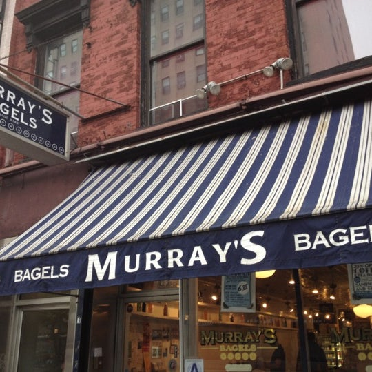 Photo taken at Murray's Bagels by Roger E. on 6/17/2012