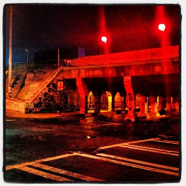 Photo taken at Krog Street Tunnel by Hector A. on 6/23/2012