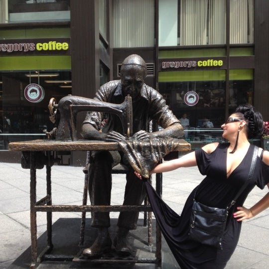 Photo taken at Garment District by Jaan on 5/27/2012