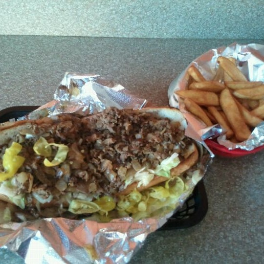 Photo taken at Philly Steak Subs by Stephen B. on 10/24/2011