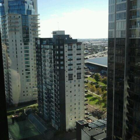 Photo taken at Crown Metropol Hotel by Geof G. on 3/9/2012