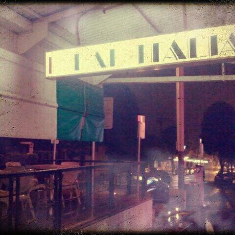 Photo taken at Bar Italia by jaddan b. on 5/24/2012
