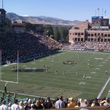 Photo taken at Folsom Field by Kevin F. on 9/11/2011