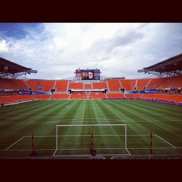 Photo prise au BBVA Compass Stadium par Major League Soccer le8/26/2012