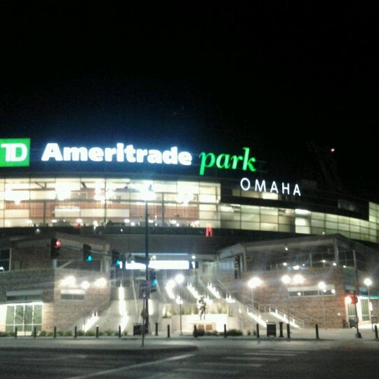 Photo taken at TD Ameritrade Park by Andre P. on 6/10/2012