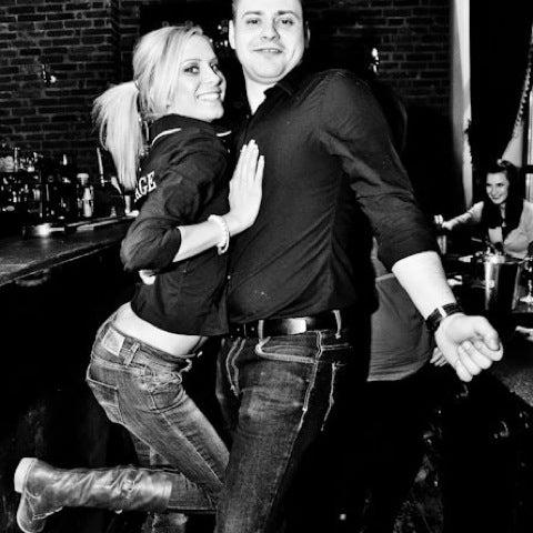 Photo taken at The Vintage Pub by Denisa O. on 3/15/2012