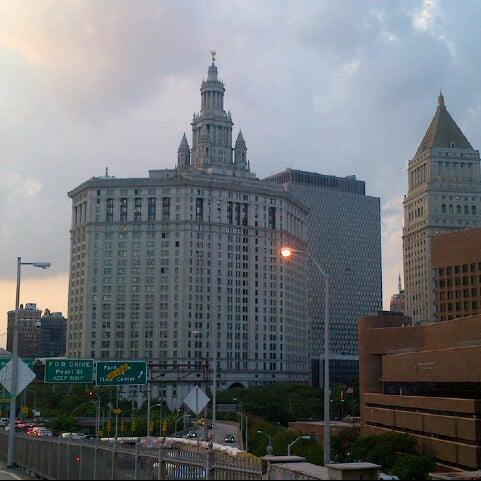 Photo taken at NYC Municipal Building by Tim J. on 9/7/2012