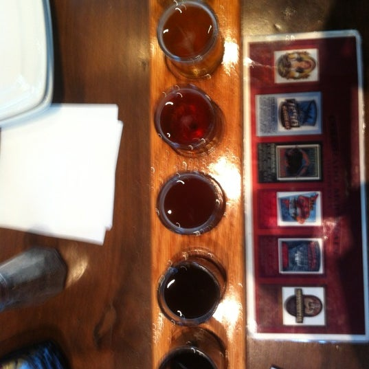Photo taken at Colorado Mountain Brewery by Kayla H. on 2/23/2012