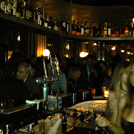 """""""Unless you're a celebrity, be prepared to wait. Your best bet for getting in is to arrive before 12am and be dressed to the nines."""" More info at http://www.partyearth.com/new-york/clubs/lavo-2/."""