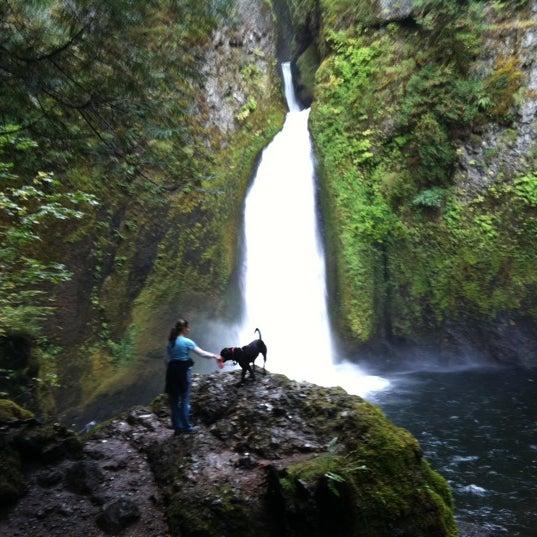 Photo taken at Wahclella Falls Trail by Nancy J. on 10/12/2011