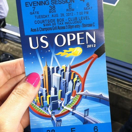 Photo taken at US Open Tennis Championships by Kelly on 8/29/2012