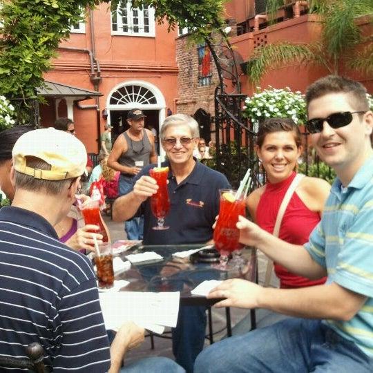 Photo taken at Pat O'Brien's by Richard B. on 10/8/2011