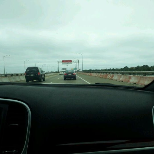 Photo taken at HRBT by Cheryl M. on 5/20/2012