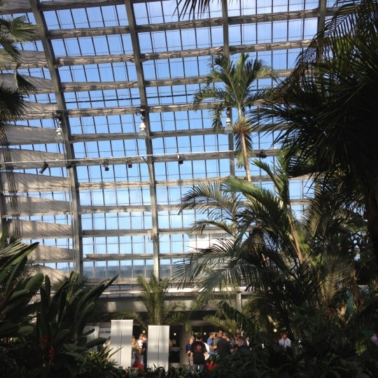 Photo taken at Garfield Park Conservatory by Maeve P. on 5/17/2012