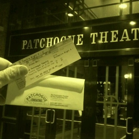 Photo taken at Patchogue Theatre by craig l. on 1/21/2012