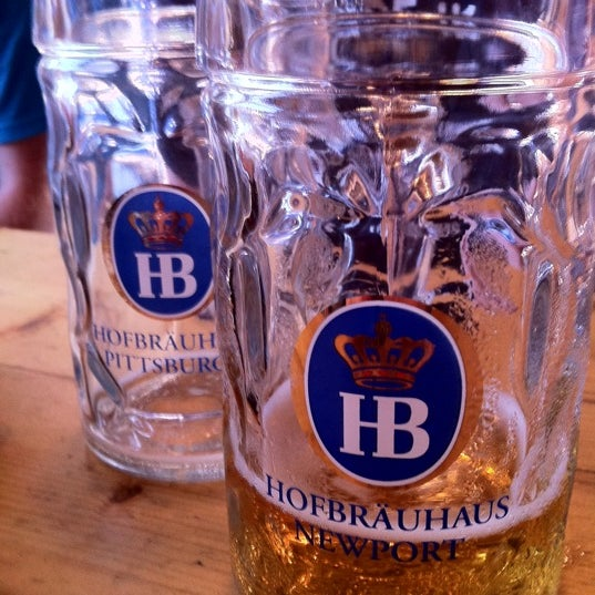 Photo taken at Hofbräuhaus Newport by Tim S. on 7/23/2011