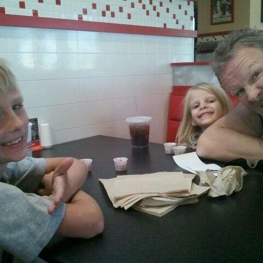 Photo taken at Freddy's Frozen Custard and Steakburgers by DeAnn F. on 11/12/2011