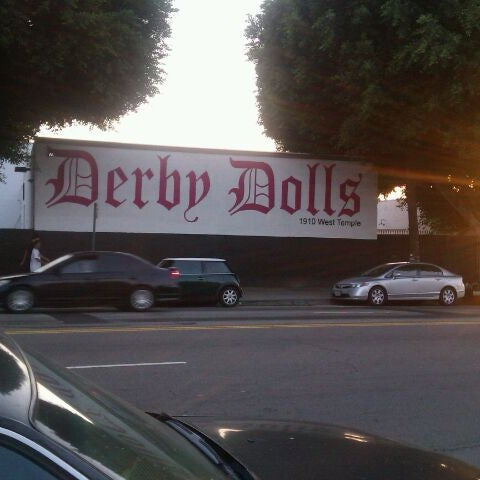 Photo taken at Doll Factory (L.A. Derby Dolls) by Seny on 10/23/2011