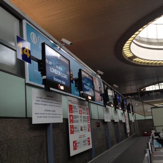 Photo taken at Check-in desk by ФиМа🌺🐝 on 5/30/2012