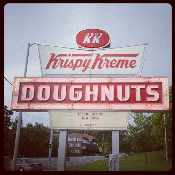 Photo taken at Krispy Kreme Doughnuts by Terésa D. on 5/21/2012