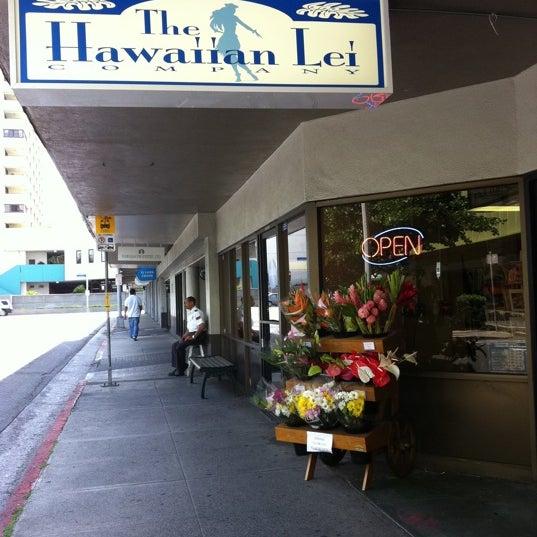 Flower Shop In Downtown Honolulu