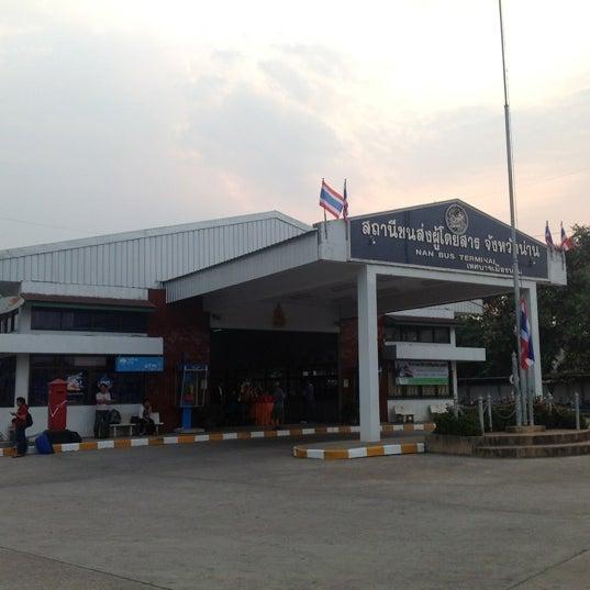 รูปภาพถ่ายที่ สถานีขนส่งผู้โดยสารจังหวัดน่าน โดย Mr. Cha N. เมื่อ 4/20/2012