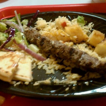 Photo taken at Just Kabobs by Phill K. on 1/1/2011