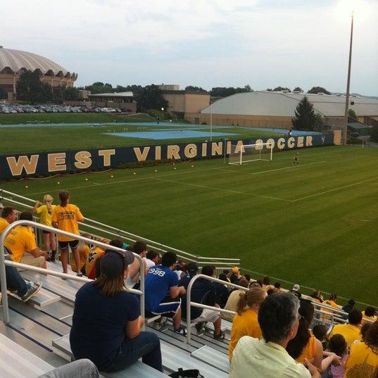 Photo taken at Dick Dlesk Soccer Stadium by Jon D. on 9/1/2011