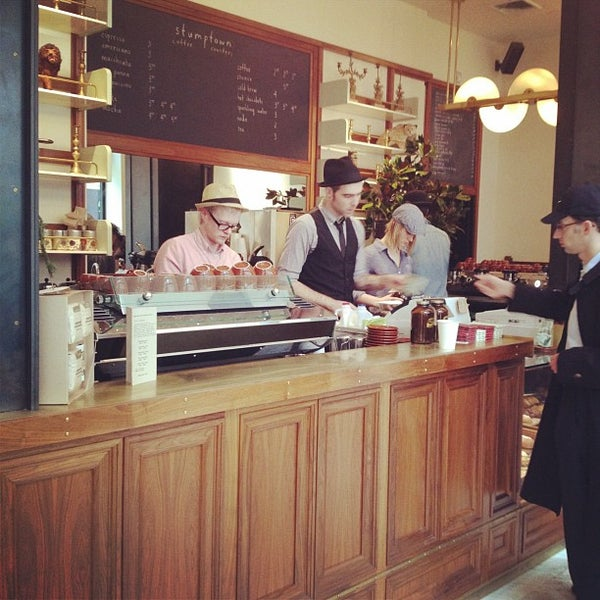 Photo taken at Stumptown Coffee Roasters by John A. on 11/29/2011